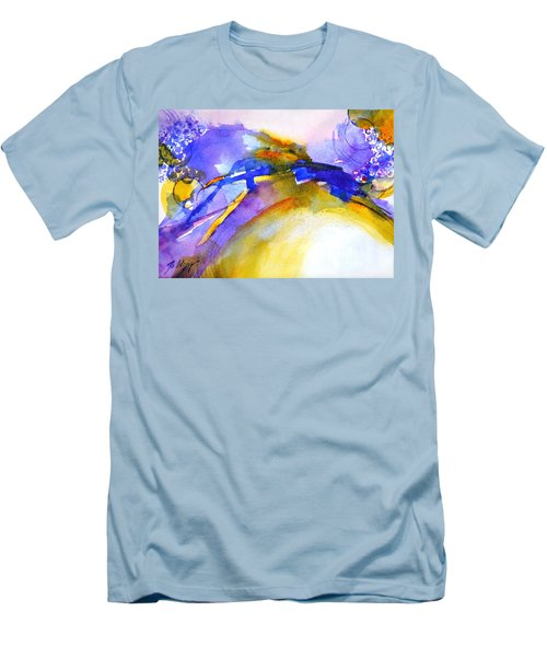 Expressive #3 Men's T-Shirt (Slim Fit) by Betty M M Wong
