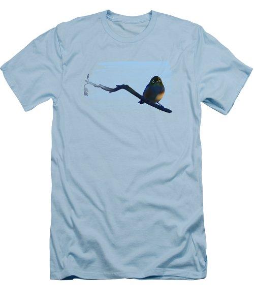 Eye To Eye With Silvereye Men's T-Shirt (Slim Fit) by Ivana Westin