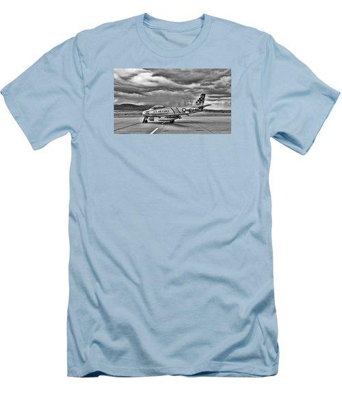 F-86 Sabre Men's T-Shirt (Slim Fit) by Douglas Castleman