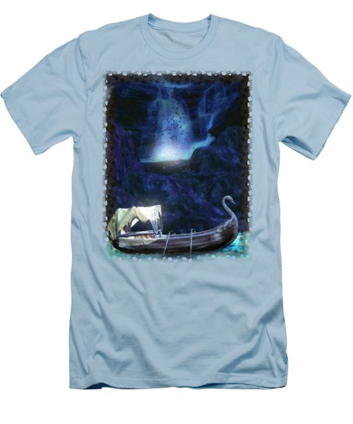 Faerie Cavern  Men's T-Shirt (Slim Fit) by Sharon and Renee Lozen