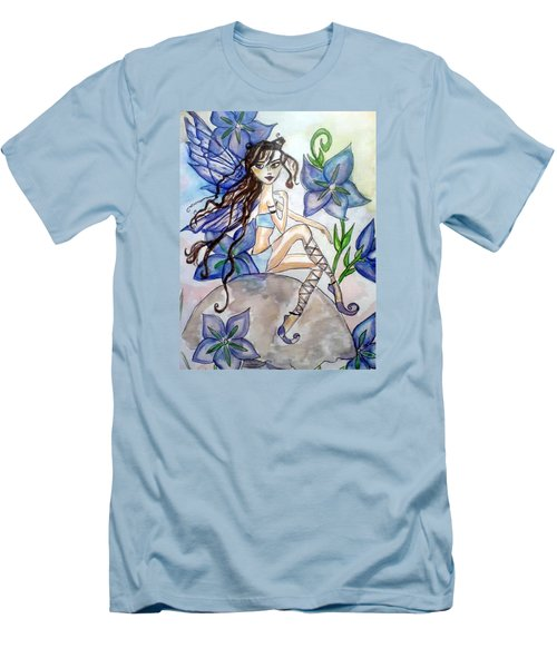 Fairy Blue Men's T-Shirt (Athletic Fit)