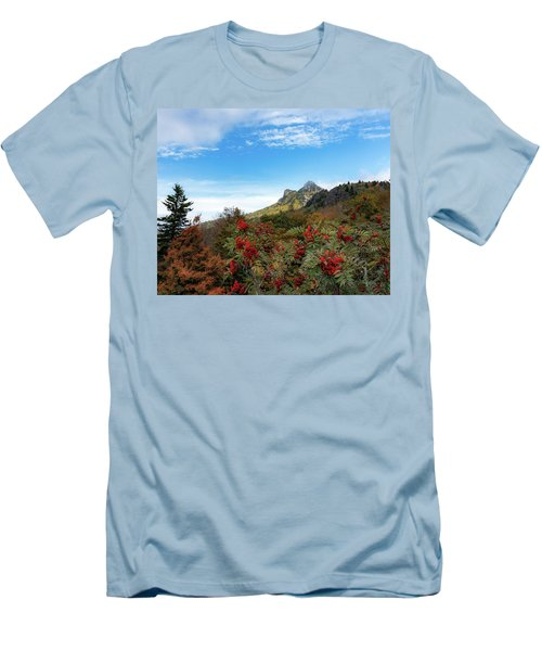 Fall At Grandfather Mountain Men's T-Shirt (Athletic Fit)
