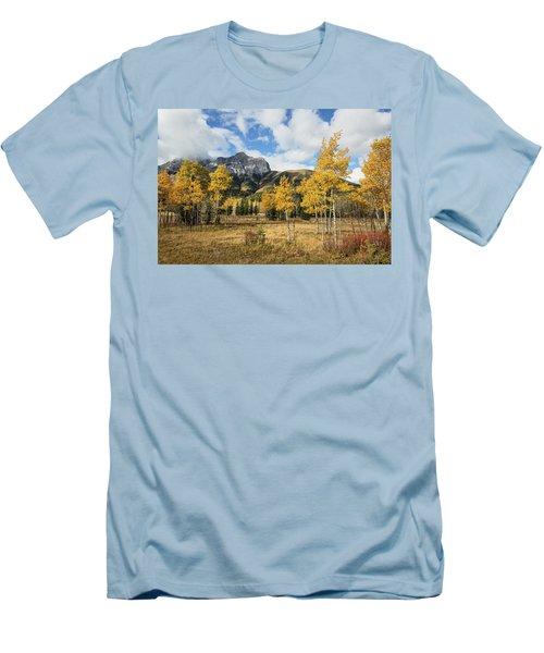 Fall In Kananaskis Men's T-Shirt (Athletic Fit)