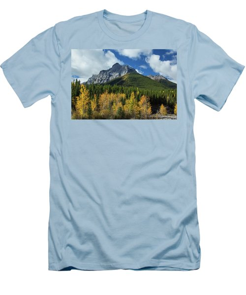 Fall In The Rockies Men's T-Shirt (Athletic Fit)