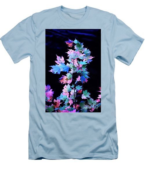 Fall Leaves1 Men's T-Shirt (Athletic Fit)