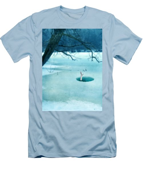 Fallen Through The Ice Men's T-Shirt (Athletic Fit)