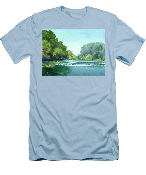 Falls At Estabrook Park Men's T-Shirt (Athletic Fit)