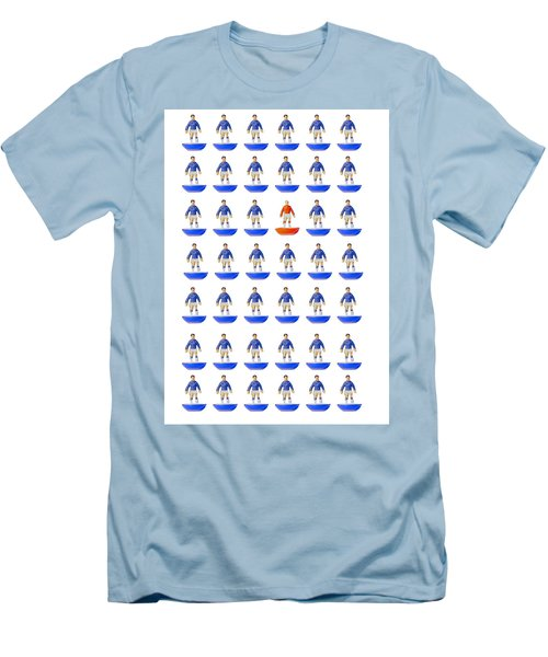 Men's T-Shirt (Slim Fit) featuring the photograph Fantasy Football Team by John Colley