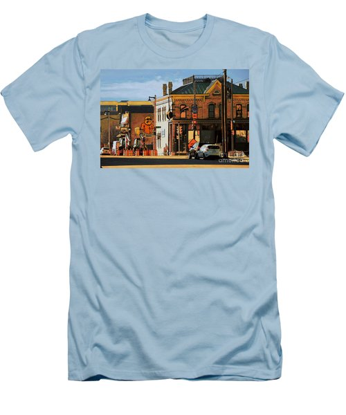 Fat Daddy's Men's T-Shirt (Slim Fit) by David Blank