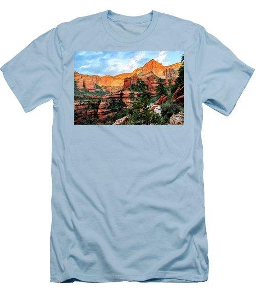 Fay Canyon 07-053 Men's T-Shirt (Slim Fit) by Scott McAllister