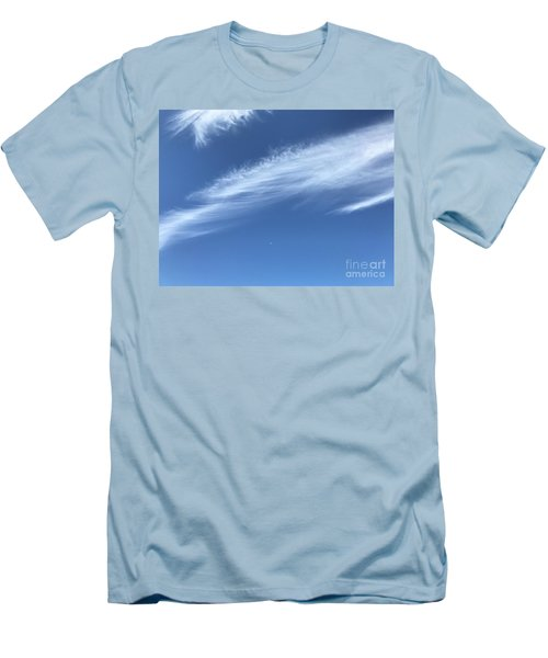 Feather In The Sky Men's T-Shirt (Athletic Fit)