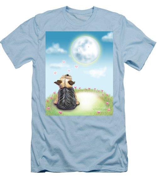 Feeling Love Men's T-Shirt (Slim Fit) by Catia Cho