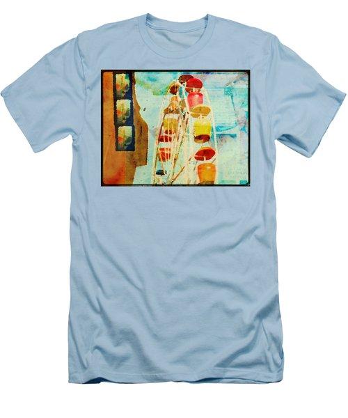 Ferris Wheel Fun Men's T-Shirt (Athletic Fit)