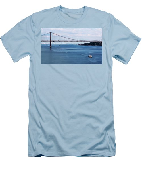 Ferry Across The Tagus Men's T-Shirt (Athletic Fit)
