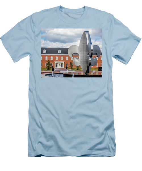 Men's T-Shirt (Slim Fit) featuring the photograph Fg Mouton Hall 02 by Gregory Daley  PPSA