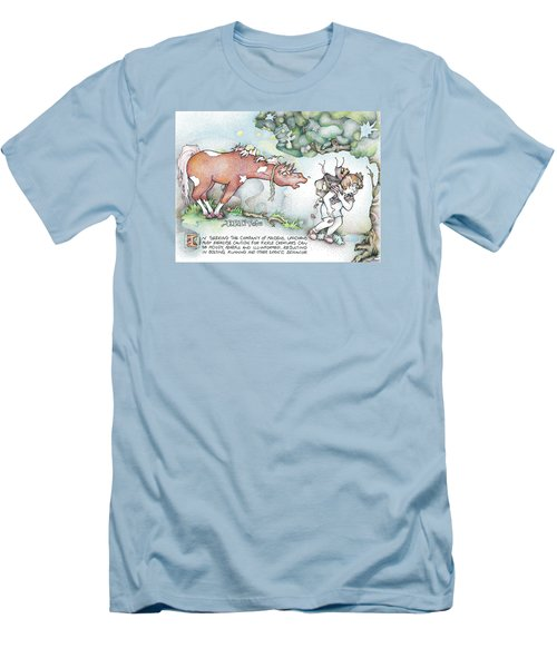 Fickle Creatures Foto Men's T-Shirt (Slim Fit) by Dawn Sperry