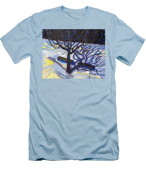 Fifth Floor Shadows Two Men's T-Shirt (Athletic Fit)