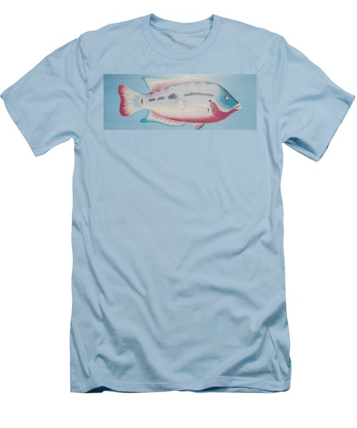 Fishy In Ocean Men's T-Shirt (Athletic Fit)