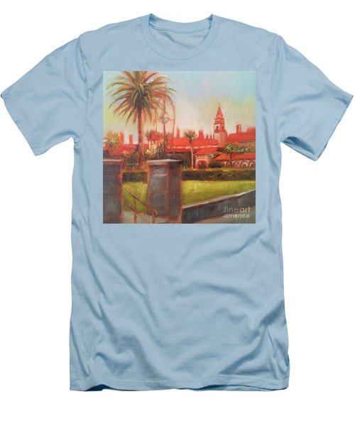 Flagler College Men's T-Shirt (Slim Fit) by Mary Hubley