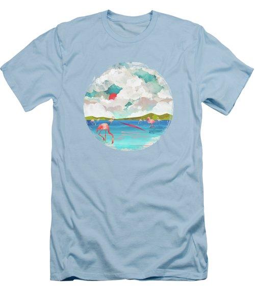 Flamingo Dream Men's T-Shirt (Athletic Fit)