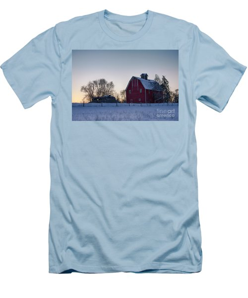 Flathead Valley Dawn Men's T-Shirt (Athletic Fit)