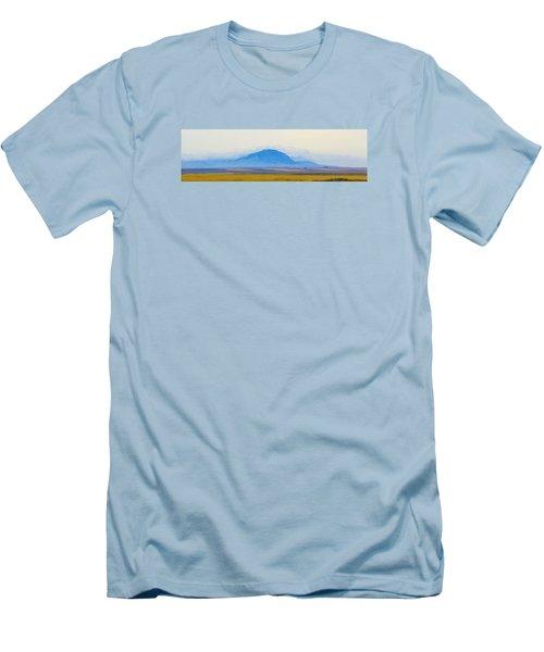 Men's T-Shirt (Slim Fit) featuring the photograph Flatlands by Susan Crossman Buscho