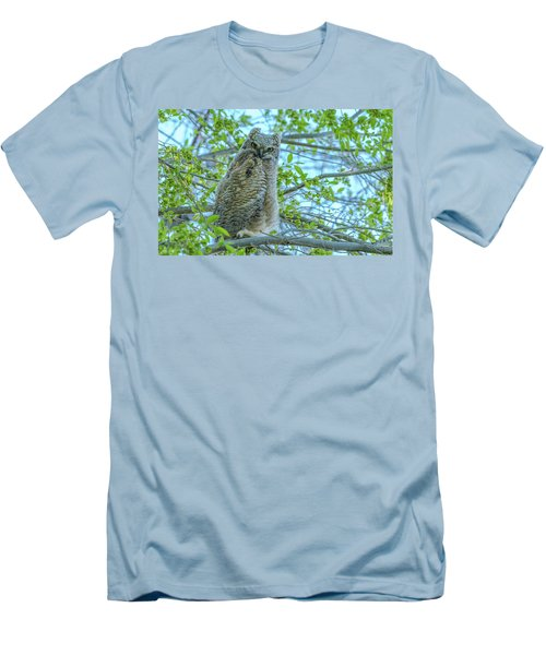 Fledgling Moment At Sundown Men's T-Shirt (Athletic Fit)