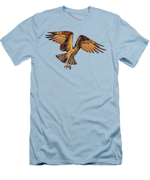 Flight Of The Osprey Men's T-Shirt (Athletic Fit)
