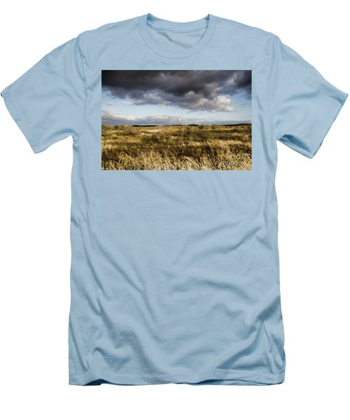 Flinders Ranges Fields V3 Men's T-Shirt (Slim Fit) by Douglas Barnard