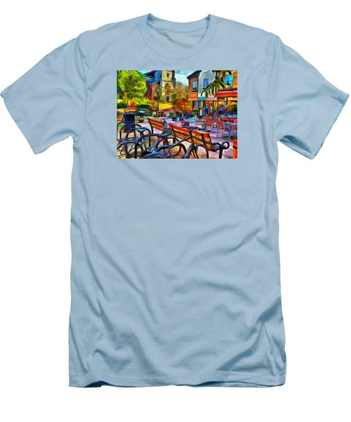 Floppy Bikes And Empty Benches Men's T-Shirt (Athletic Fit)