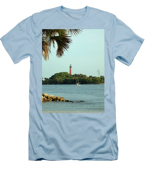 Florida Lighthouse 3 Men's T-Shirt (Athletic Fit)