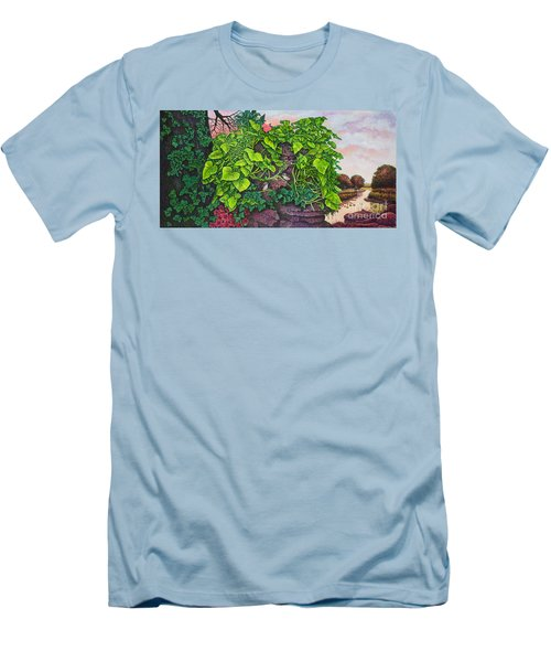 Flower Garden Viii Men's T-Shirt (Athletic Fit)