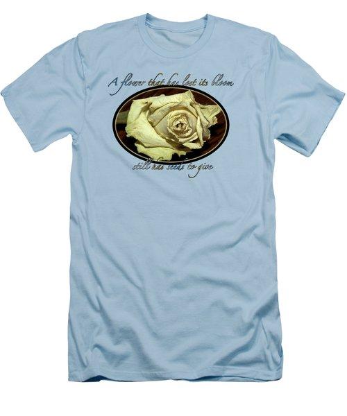 Flower Wisdom Men's T-Shirt (Athletic Fit)