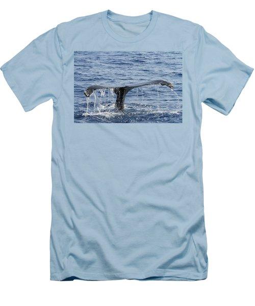 Fluke  Men's T-Shirt (Slim Fit) by Shoal Hollingsworth