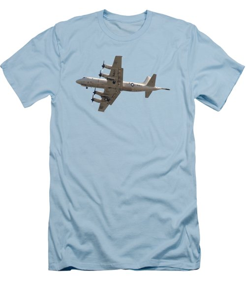 Fly Navy T-shirt Men's T-Shirt (Slim Fit) by Bob Slitzan