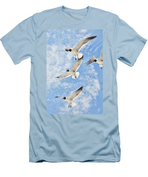 Flying High Men's T-Shirt (Slim Fit) by Jan Amiss Photography