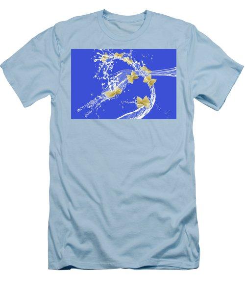 Flying Pasta Men's T-Shirt (Athletic Fit)