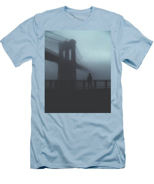 Fog Life  Men's T-Shirt (Slim Fit) by Anthony Fields
