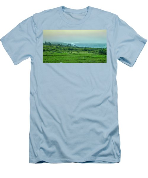 Foggy Day #g0 Men's T-Shirt (Athletic Fit)