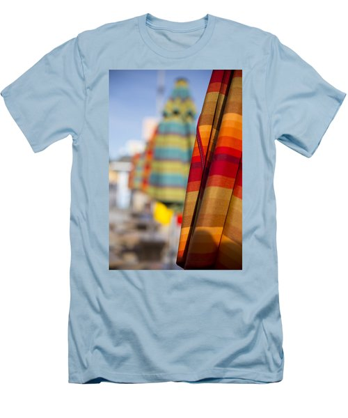 Men's T-Shirt (Athletic Fit) featuring the photograph Folded by Lora Lee Chapman