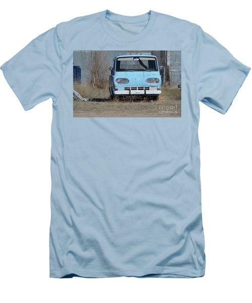 Ford Light Blue Men's T-Shirt (Slim Fit) by Renie Rutten