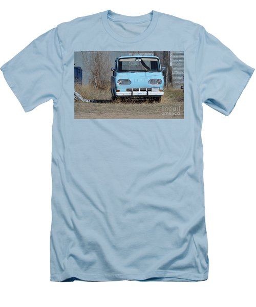 Ford Light Blue Men's T-Shirt (Athletic Fit)