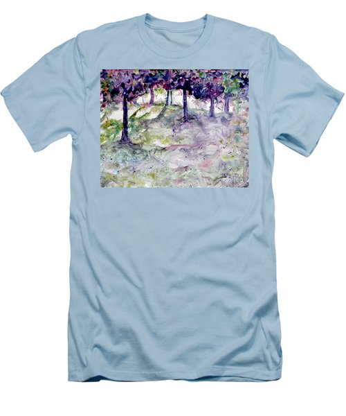 Forest Fantasy Men's T-Shirt (Athletic Fit)