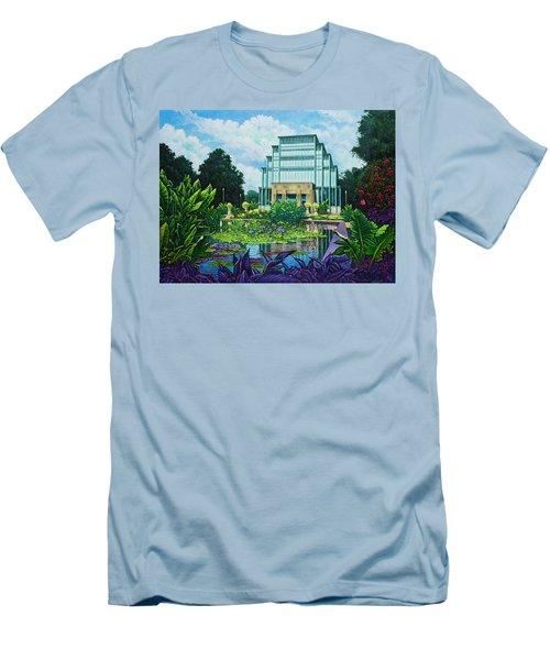 Forest Park Jewel Box Men's T-Shirt (Slim Fit) by Michael Frank