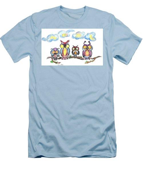 Four Friends  Men's T-Shirt (Athletic Fit)