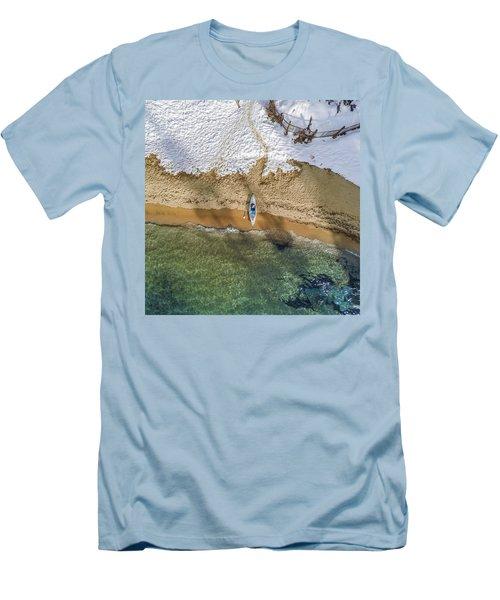Four Seasons Men's T-Shirt (Slim Fit) by Alpha Wanderlust