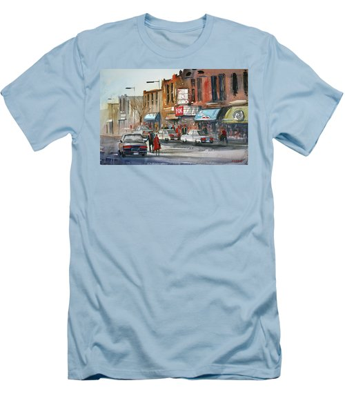 Fox Theater - Steven's Point Men's T-Shirt (Athletic Fit)