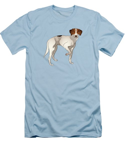 Foxhound Men's T-Shirt (Slim Fit) by MM Anderson