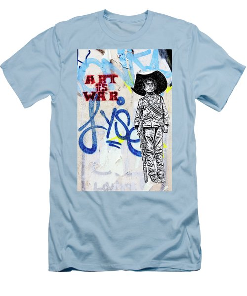 Men's T-Shirt (Slim Fit) featuring the photograph Freedom Fighter by Art Block Collections