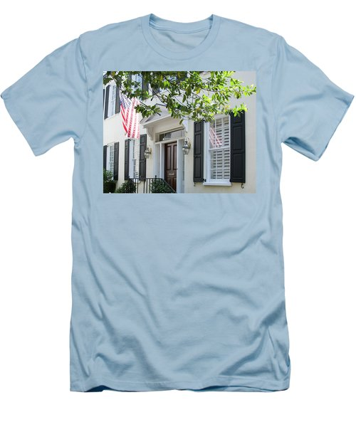 Freedom Reflected Men's T-Shirt (Slim Fit) by Ed Waldrop